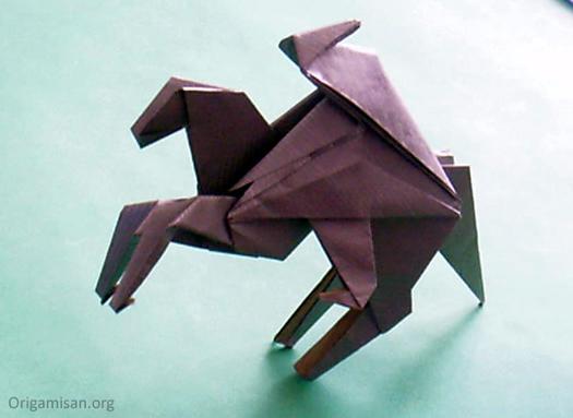 Origami süvari