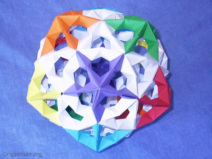 Kusudama (parçalı origami)